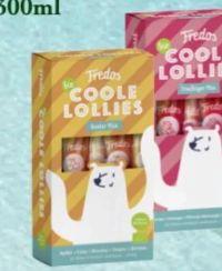 Coole Bio-Lollies von Fredo's