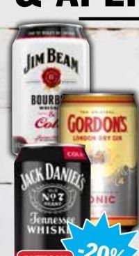 Fertige Longdrinks von Jack Daniel's