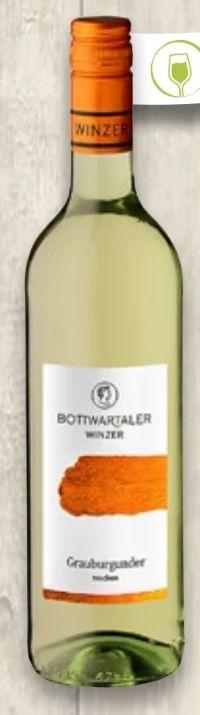 Klassiker Grauburgunder von Bottwartaler Winzer