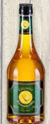 Liqueur Einunddreißig Spezialität von Boente