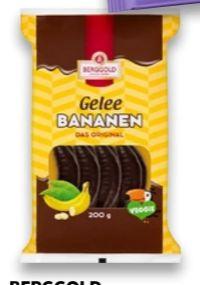 Gelee Bananen von Berggold