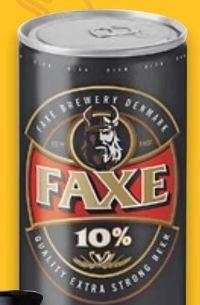 Starkbier von Faxe