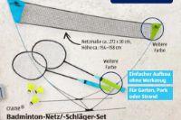 Badminton-Set mit Netz von Crane