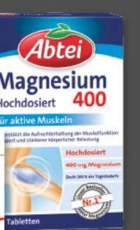 Abtei Magnesium 400 von Omega Pharma