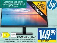 27''-LED-PC-Monitor-Full HD von Hewlett Packard (HP)