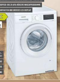 Waschmaschine WU14UT20 von Siemens