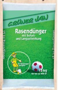 Rasendünger von Grüner Jan