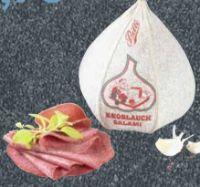 Knoblauch-Salami von Bille