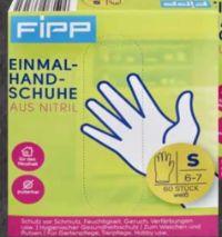 Einmalhandschuhe aus Vinyl von Fipp