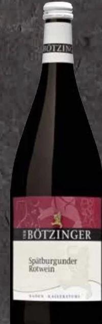 Spätburgunder Rotwein von Bötzinger