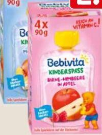 Kinderspaß Fruchtmus von Bebivita