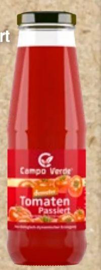 Bio Passierte Tomaten von Campo Verde