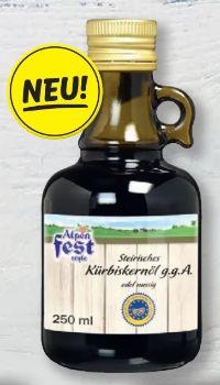 Steirisches Kürbiskernöl von Alpenfest