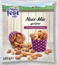 Gesüßte Nüsse von Alpenfest