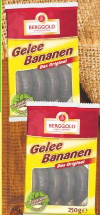 Mini Geleebananen von Berggold