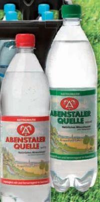 Mineralwasser von Abenstaler Quelle