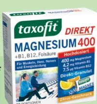 Taxofit Magnesium 400 Granulat von Klosterfrau
