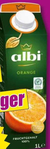 Fruchtsaftgetränk von Albi