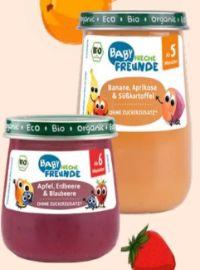 Bio-Babybrei Apfel von Erdbär Freche Freunde