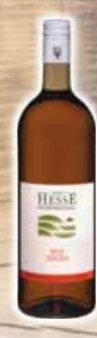 Der Hesse von der Bergstraße Rosé von Bergsträßer Winzer
