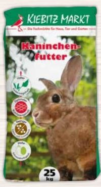 Kaninchenfutter von KiebitzMarkt