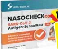 Nasocheck Kcomfort SARS-CoV-2-Antigen-Schnelltest von Lepu Medical