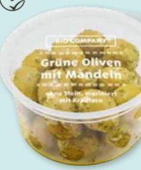 Grüne Oliven von Bio Company