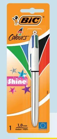 Kugelschreiber 4 Colours Shine von BIC