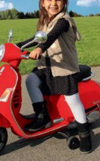 Kinder Ride-On Roller Vespa von Jamara
