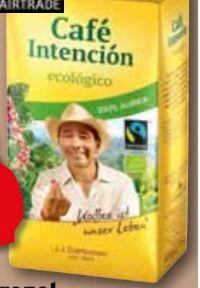 Bio Fairtrade Café Crema Intención ecológico von Darboven