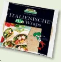 Italienische Bio Wraps von Mestemacher