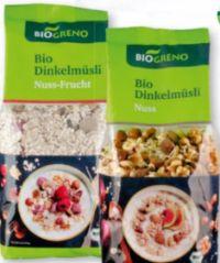 Bio Dinkel-Müsli von BioGreno
