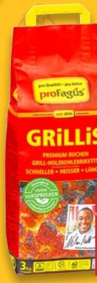 Buchen-Grill-Holzkohle Briketts von proFagus