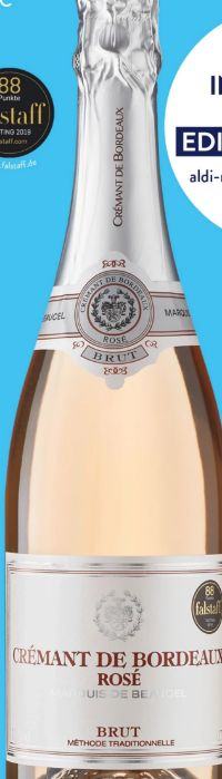 Crémant de Bordeaux Rosé von Marquis de Beaucel
