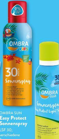 Easy Protect Sonnenspray von Ombra Sun