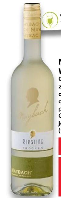 Weißweine von Maybach