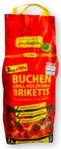 Grillis Buchen Grill Holzkohle Briketts von proFagus