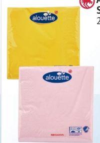 Servietten von Alouette