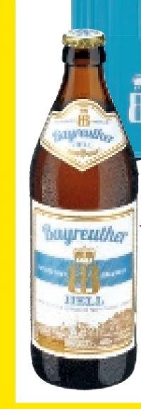 Bier von Bayreuther Brauhaus