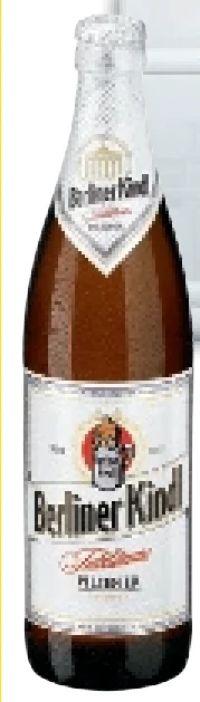 Bier von Berliner Kindl