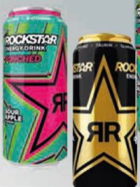 Energy-Drink von Rockstar