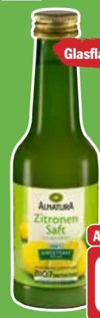Bio Zitronensaft von Alnatura