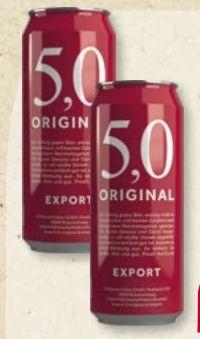 Export von 5,0 Original