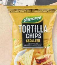 Bio Tortilla Chips von Dennree