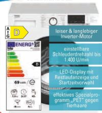 Waschmaschine WML71434EDR1 von Beko