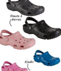 Damen-Herren-Clogs von Crocs