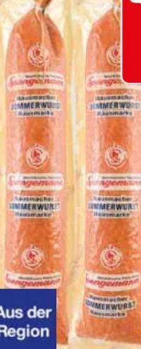 Hausmacher Sommerwurst von Spengemann
