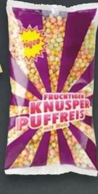 Fruchtiger Knusper Puffreis von Frigeo