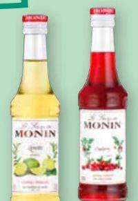 Sirup Gin von Monin