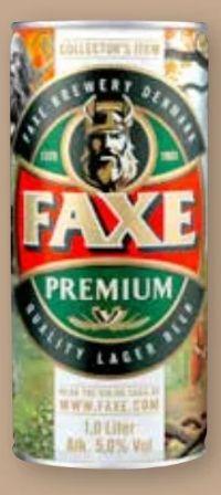 Premium Lager von Faxe